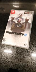 Payday 2 nintendo switch NEUF