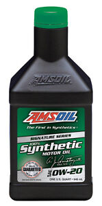 Amsoil Signature Series 100% Synthetic - One Of The Best
