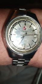 PRICE REDUCED BY £ 100 😊Superb vintage RADO CONWAY.