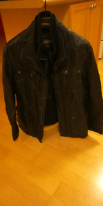 Beautiful Danier long leather jacket (medium)