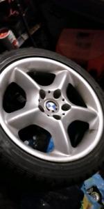 BMW 17 WINTERS RIMS + TIRES