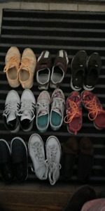 variety of gently used womens clothing and shoes