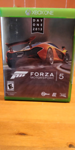 Forza Motorsport 5 for xbox one sealed