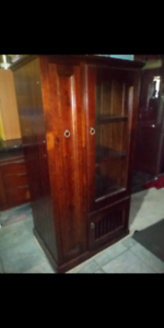 Solid wood furniture both for $60