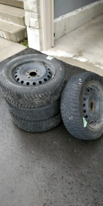 Nissan Versa Winter Tires OEM RIM SET  for 185/65/R15