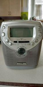 Phillips alarm clock / CD player