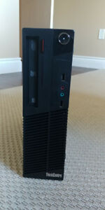 Lenovo ThinkCentre M71e Desktop PC 8gb RAM i3 500gb HDD
