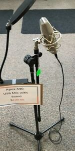 Apex 440 USB Mic with stand