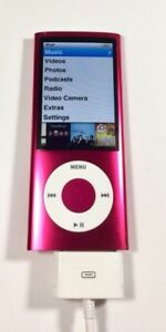 Ipod a1320 with camera red/pink mini $60