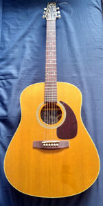 Seagull S6 Cedar GT Acoustic Guitar and Case