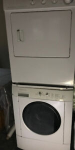 "27"" Frigidaire Stackable Front Load Washer & Dryer"