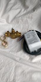 Drayton 22mm central heating zone valve