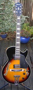 Ibanez AG75BS Small Body Archtop Guitar