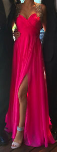 Beautiful pink prom dress for sale!