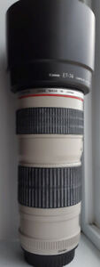OBJECTIF PROFETIONNEL CANON 70-200MM USM F4