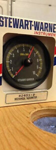 stewart-warner cable drive 10,000 rpm tachometer