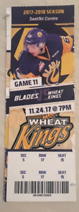 BLADES GAME TONITE  ( 2 tickets )