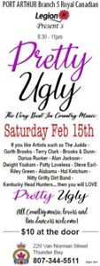 """BR. 5 LEGION:  New Country Band """"PRETTY UGLY"""""""