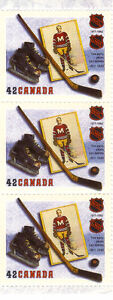 Canada Stamps - NHL 1917-1992 The Early Years 1917-1942 42c