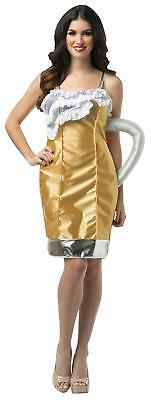ADULT BEER MUG DRINKING PARTY COSTUME DRESS GC6338](Adult Halloween Party Drinks)