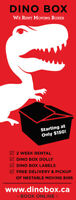 Dino Box Rentable Moving Boxes