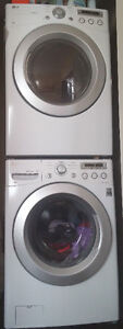 1 Yr old LG Front Load Washer and Dryer -  4.9 out of 5 reviews