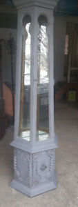 Beautiful Grey China Cabinet for Sale