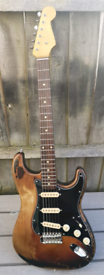 Edwards E-SE-120r SRV relic stratocaster guitar Japan