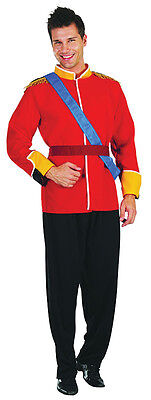 Adult Royal Prince William Jacket Costume Mens Military #US - Prince William Halloween Costume