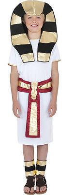 Ägyptischer Pharao Kinderkostüm Classic NEU - Jungen Karneval Fasching Verkleidu