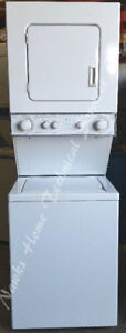 "Whirlpool Compact 24"" Stacking Washer Dryer, 12 month  warranty"