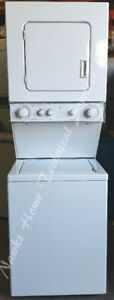 "Whirlpool Compact 24"" Stacking Washer Dryer, 1 year  warranty"