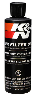 K&N 99-0533 Air Filter Cleaning Care Air Filter Oil - 8 Oz Squeeze Bottle