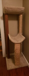 CAT TREE and Scratcher
