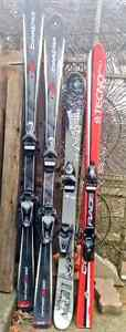 I need more, old, unwanted skis wth NO BINDINGS