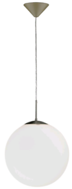 **£25** Chrome and Glass Pendant Ceiling light