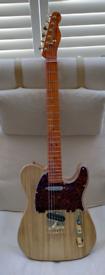 Franken Tele Telecaster style guitar
