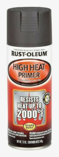 Rust-Oleum HIGH HEAT PRIMER 12oz 2000°F Automotive Smooth Finish Top Coat 249340