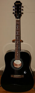 Epiphone DR-100EB Acoustic Guitar, Stand & Bag