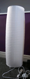 New paper floor lamp