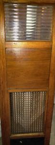 Old confessional door