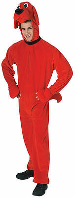 Adult Clifford The Big Red Dog Deluxe Costume Standard