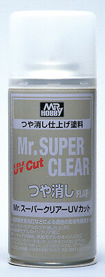 Mr. Hobby Mr. Super Clear UV Cut Flat B523