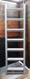 Wooden ladder wooden stairs