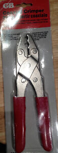 New Gardner Bender GS-89 Coaxial Cable Cutter and Crimper