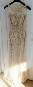 Beautiful gold nude evening prom dress London Ontario image 2