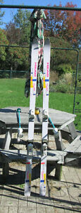 "VINTAGE HEAD ""PHANTOM"" SKIS + LEKI POLES! 80'?s"