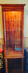 Curio Cabinet with light ***Reduced to $80.00***