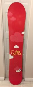 SIMS snowboard 5ft $80 OBO