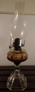 Antique Oil Lamp From The Queen Mary